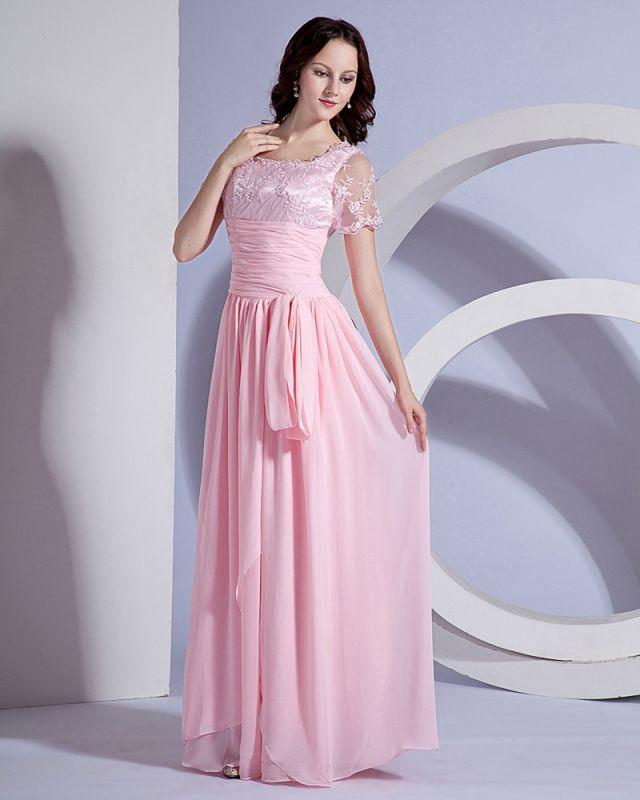 Designer Sash Embroidery Floor Length Mothers of Bride & Guests Dresses