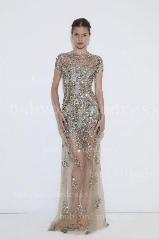 Stunning Wholesale Womens Evening Party Dresses For Sale Designer Beaded Long Babyonline Dress For Proms BO1186