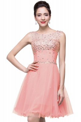 Open-Back Sleeveless Crystal Short Homecoming Dresses_1