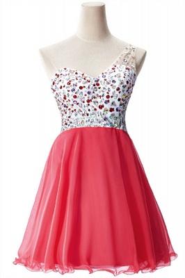 Open-Back One-Shoulder Glamorous Short A-Line Crystal Homecoming Dresses_1