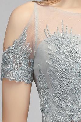 A-Line Appliques Silver Exquisite Chiffon Two-Pieces Bridesmaid Dresses_10