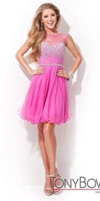 Open-Back Sleeveless Crystal Short Homecoming Dresses_3