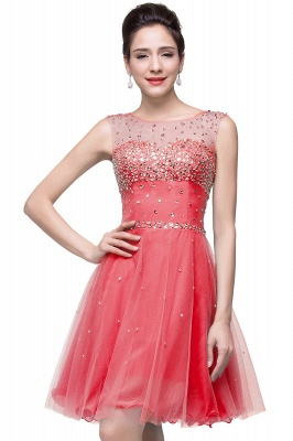 Open-Back Sleeveless Crystal Short Homecoming Dresses_2