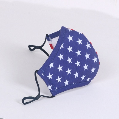 10 PCS Funny Reusable Cartoon Print Designer Dustproof Mask Riding Bike Protective Mask_4