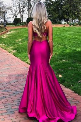 Slits Mermaid Sleeveless Amazing Prom Dresses_2