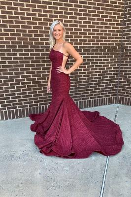 Mermaid Alluring One-shoulder Long Prom Dresses_1