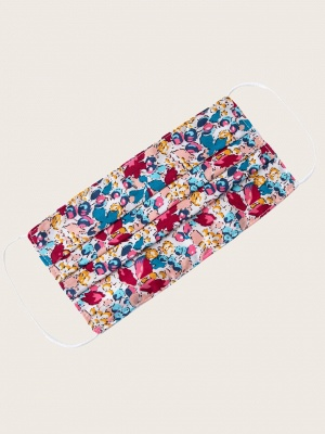20 Pcs Floral Print Face Mask_2
