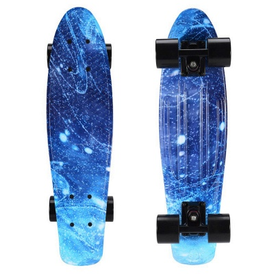 Child Small Fish board Skateboard With LED Wheel_2