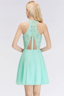 Cheap A-Line Homecoming Dresses | Sexy Lace Beading Short Chiffon Cocktail Dresses_9