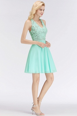 Cheap A-Line Homecoming Dresses | Sexy Lace Beading Short Chiffon Cocktail Dresses_10