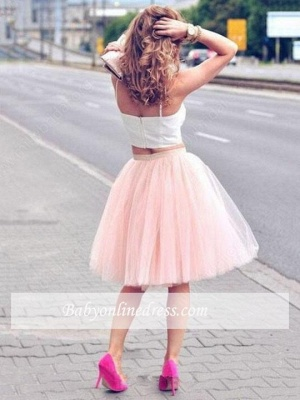 2021 Sexy Spaghetti-Strap Pink White Tulle Sleeveless Two-Piece-Homecoming-Dress_1