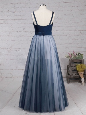 Chic A-Line Prom Dresses | Simple Tulle Evening Dresses_5