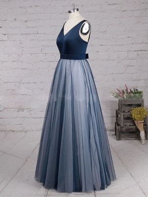 Chic A-Line Prom Dresses | Simple Tulle Evening Dresses_3