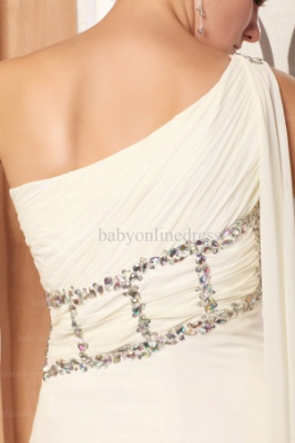 Wholesale Evening Dresses One Shoulder Sequins Chiffon Dress On Line BO0675_4