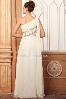 Wholesale Evening Dresses One Shoulder Sequins Chiffon Dress On Line BO0675_3