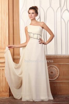 Wholesale Evening Dresses One Shoulder Sequins Chiffon Dress On Line BO0675_5