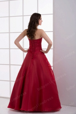 Wholesale Luxury Crimson Strapless Sequined Flowers Layered Quinceanera Dresses On Sale DH4250_4