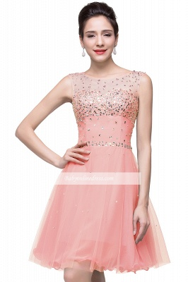 Open-Back Sleeveless Crystal Short Homecoming Dresses_8