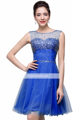Open-Back Sleeveless Crystal Short Homecoming Dresses_7