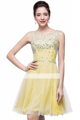 Open-Back Sleeveless Crystal Short Homecoming Dresses_6