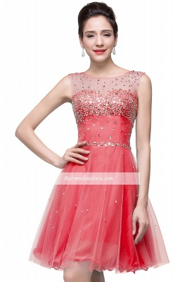 Open-Back Sleeveless Crystal Short Homecoming Dresses_5