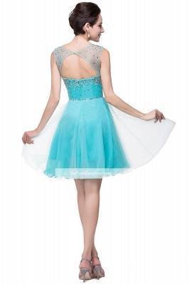 Open-Back Sleeveless Crystal Short Homecoming Dresses_9