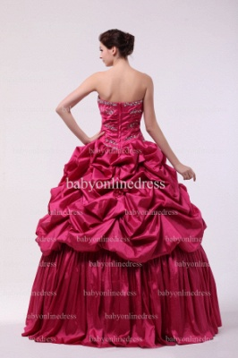 Discounted Glitz Dresses For Quinceanera 2021 Wholesale Sweetheart Beaded Flowers Gowns BO0859_4