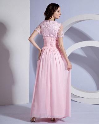 Designer Sash Embroidery Floor Length Mothers of Bride & Guests Dresses_3