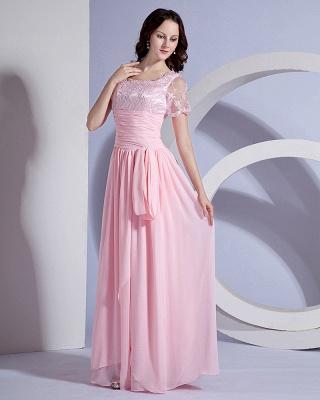 Designer Sash Embroidery Floor Length Mothers of Bride & Guests Dresses_2