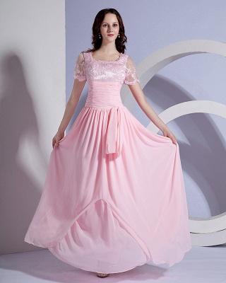 Designer Sash Embroidery Floor Length Mothers of Bride & Guests Dresses_8