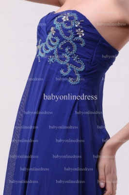 Inexpensive Gorgeous Prom Dresses Loyal Blue Wholesale 2021 Sweetheart Beading Long Chiffon Dresses BO0870_3
