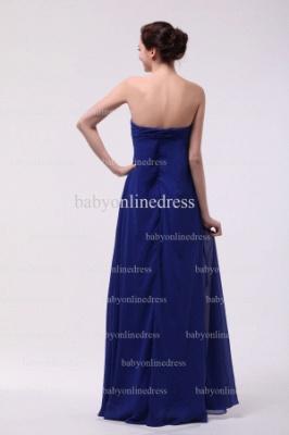 Inexpensive Gorgeous Prom Dresses Loyal Blue Wholesale 2021 Sweetheart Beading Long Chiffon Dresses BO0870_4