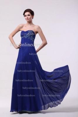 Inexpensive Gorgeous Prom Dresses Loyal Blue Wholesale 2021 Sweetheart Beading Long Chiffon Dresses BO0870_5