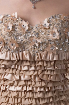 Wholesale Short Prom Dress 2021 with Beading Appliques Ruffles Sweetheart Prom Dresses Shopping DH4219_3